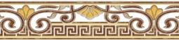 Бордюр Zeus Ceramica Damasko 10x45