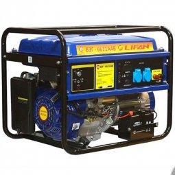Генератор бензиновый Калибр БЭГ-6611ААБ Lifan