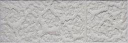 Плитка для стен Сокол Саяны SN-1-2 белая полуматовая 12х36.5