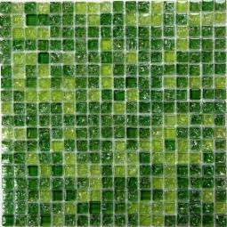 Мозаика Bonаparte Strike Green зеленая матовая 30x30