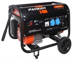 Генератор бензиновый Patriot GP-3810 L 2800/3000 Вт ручной запуск