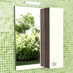Шкаф-зеркало Comforty Рио-60 дуб солсбери