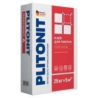Клей для плитки Plitonit А для внутренних работ 25кг