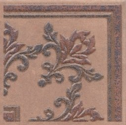 Вставка Kerama Marazzi Честер STG\F252\3418 14.7х14.7 коричневый