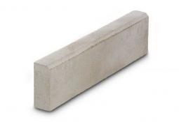Камень бордюрный Вибропрессованный 500х200х50 Серый