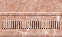 Бордюр Нефрит-керамика Грато 13-01-1-23-42-41-420-1 25x15 Розовый