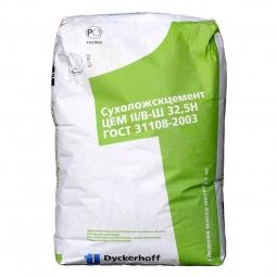 Цемент Сухоложский ЦЕМ II/В-Ш 32,5Н, (ПЦ400-Д20) 25кг