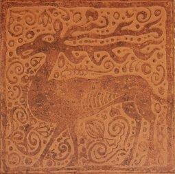 Плитка для пола Сокол Родос RDS311-1 персиковая матовая 33х33