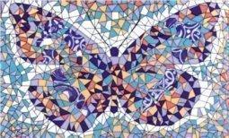Декор Сокол Гауди D-693а орнамент глянцевый 33х20