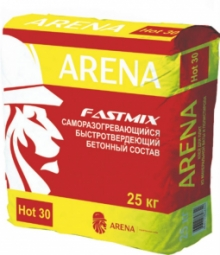 Гидроизоляционная смесь Arena FastMix Hot30 25 кг