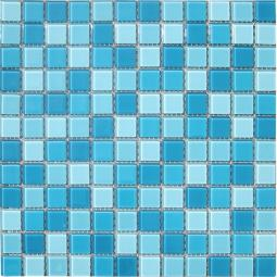 Мозаика Elada Crystal CB301 бело-голубой 32.7x32.7