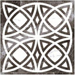 Панно Kerranova Black&White полированный черный5 120x120