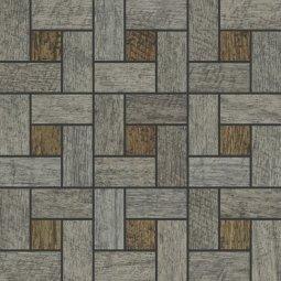 Мозаика Kerranova Timber структурированный махагон 30x30