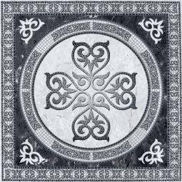 Плитка для пола La Favola Лион Ковер темно-серая 40х40