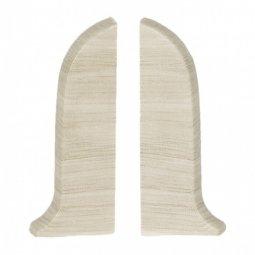 Заглушка торцевая левая и правая (блистер 2 шт.) Salag Дуб Полярный 56