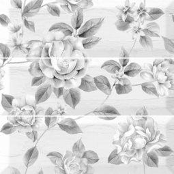 Декор Monopole Ceramica Pretty Decorado Pretty Set 3pcs серый 30х30