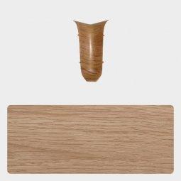 Внутренний угол Т-пласт 86 мм с центральной съемной панелью Дуб Натуральный