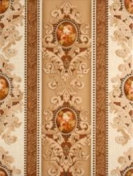 Декор Lasselsberger Текстиль светло-бежевый 1 25x33