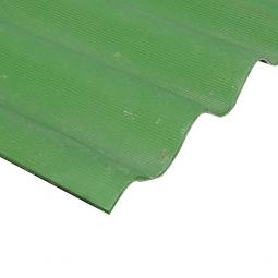Шифер кровельный 8-волновой 1750х1130х5.8мм, зеленый
