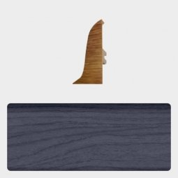 Заглушка торцевая правая (блистер 4 шт.) Т-пласт 035 Дуб Синий