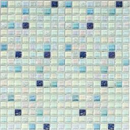 Мозаика Bonаparte Skyline бирюзовая глянцевая 30x30