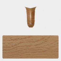 Внутренний угол Т-пласт 86 мм с центральной съемной панелью Дуб Антик