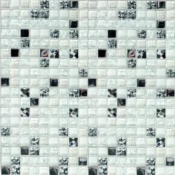 Мозаика Bonаparte Crystal white белая глянцевая 30x30
