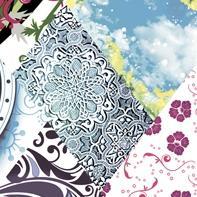 Декор Нефрит-керамика Мелкоформатная глянец 04-01-1-02-05-61-002-0 9.9x9.9 Голубой