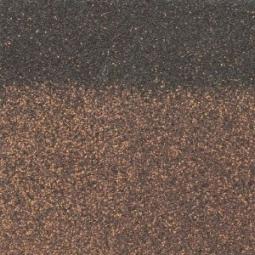 Коньково-карнизная черепица Shinglas Ранчо коричневый, 1000х250мм, 3 м2