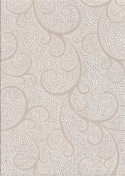 Декор Береза-керамика Капри жемчуг белый 25х35