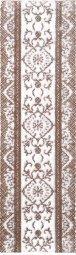 Бордюр Cracia Ceramica Шамони Коричневый 01 25x7,5