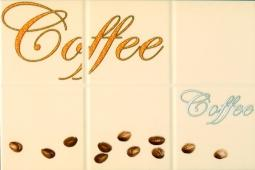 Декор Береза-керамика Руна кофе 2 бежевый 20х30