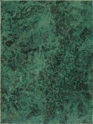 Плитка для стен Шаxтинская Плитка Каменный Цветок Зеленый Спутник 25x33