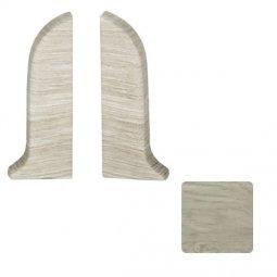 Заглушка торцевая левая и правая (блистер 2 шт.) Salag Дуб Спарта 56