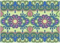 Бордюр Kerama Marazzi Праздник красок STG\A128\12037 25х18 орнамент