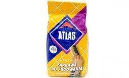 Затирка ATLAS для узких швов до 6 мм № 001 белый (5кг)