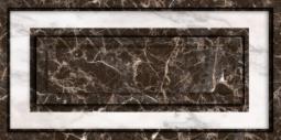 Декор Нефрит-керамика Эжен 08-00-5-10-21-04-340 50x25 Чёрный