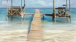 Декор Ceradim Skyline Dec Lagune Panno B 25x45