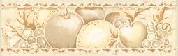 Бордюр Kerama Marazzi Украина яблоки B650\ 5027 20х6.3