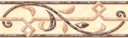 Бордюр Нефрит-керамика Алтай 05-01-1-62-00-24-020-0 20x6 Бежевый