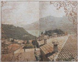 Панно Cracia Ceramica Palermo Beige Panno 03 50x40
