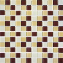 Мозаика Elada Crystal DM104 песочно-коричневая 32.7x32.7