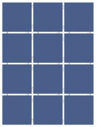 Плитка для стен Kerama Marazzi Конфетти 1234 9,9х9,9