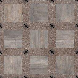 Керамогранит Cersanit Bergamo коричневый 42х42