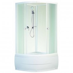 Кабина душевая Aquapulse 8501В 900х900х1950 мм матовое стекло