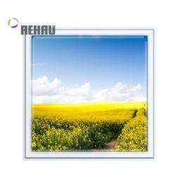 Окно ПВХ Rehau 600х600 мм одностворчатое Г 1 стекло