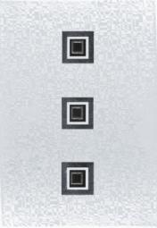 Декор ВКЗ Глосси D черная 28x40
