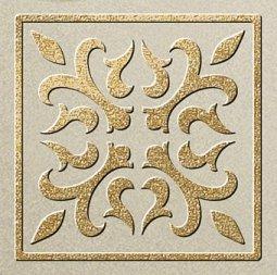 Декор Freelite Универсальные вставки для пола Палермо Бежевый шампань 6x6