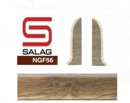 Заглушка торцевая (блистер 2 шт.) Salag NGTKE3 Дуб Аргос 56