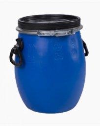 Бочка Тара пластиковая с крышкой на обруч 20 литров